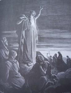 EZECHIEL prophétisant