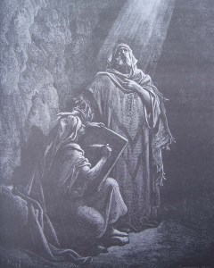 Jérémie dicte ses prophéties à Baruch
