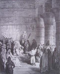 Joseph explique les songes de Pharaon